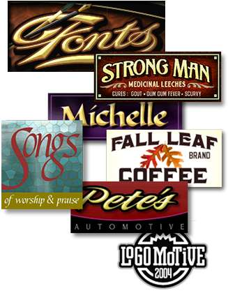 Sign Painters Lettering Fonts