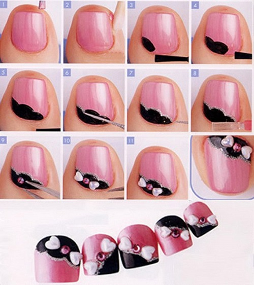 Simple Nail Art Designs Step by Step