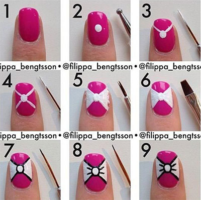 Simple Nail Art Step by Step
