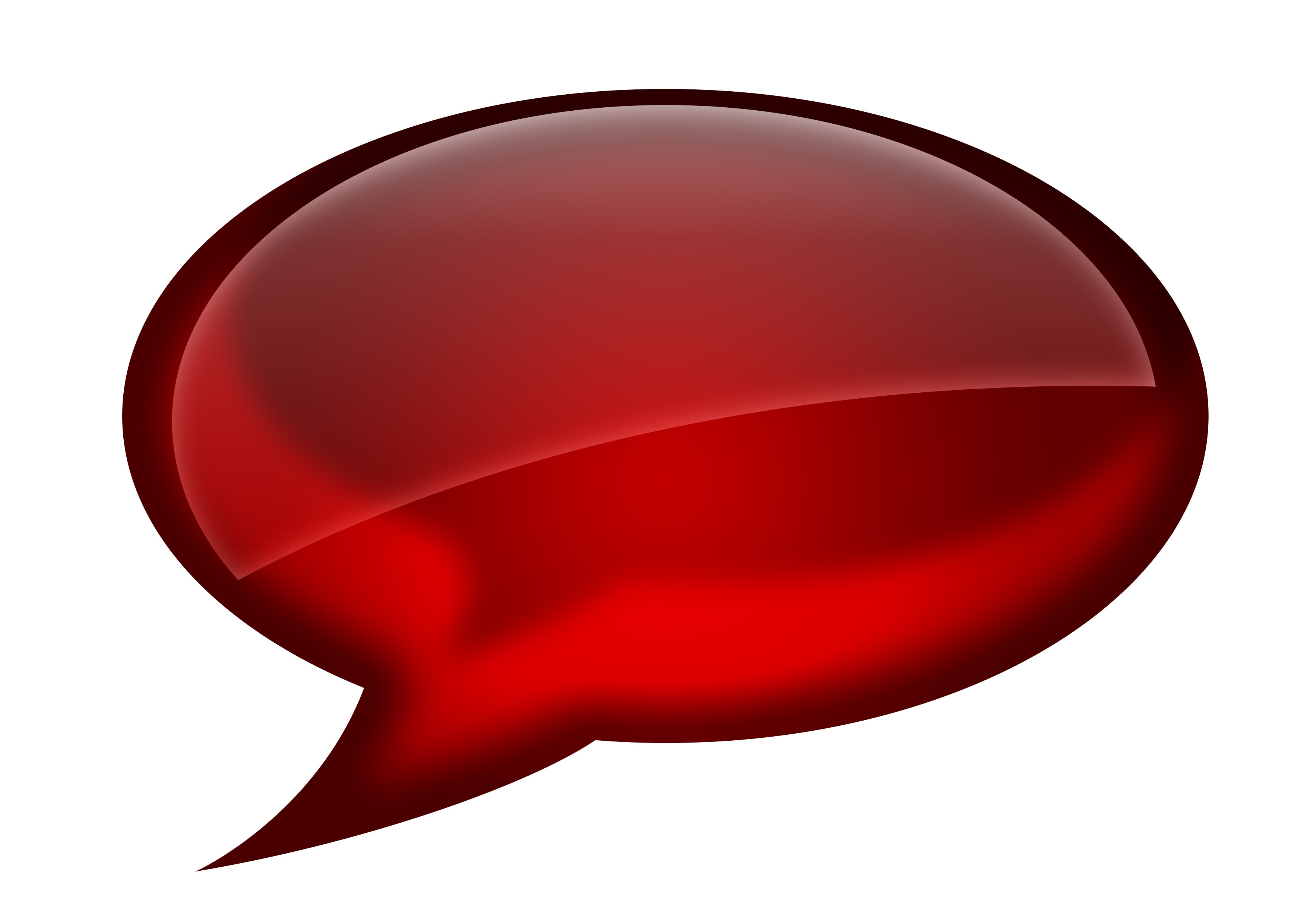 7 Red Chat Icon Images
