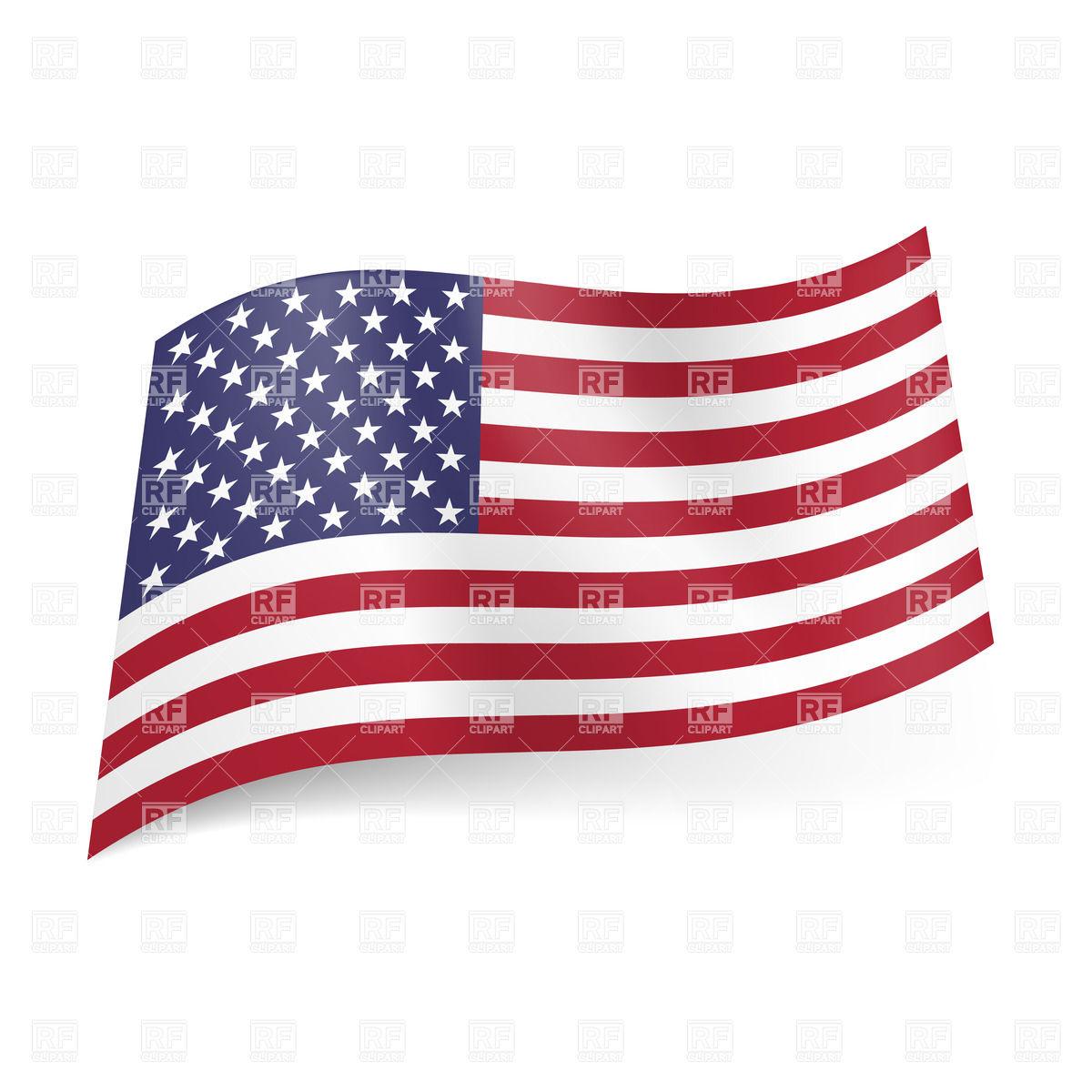 United States Flag Vector Clip Art