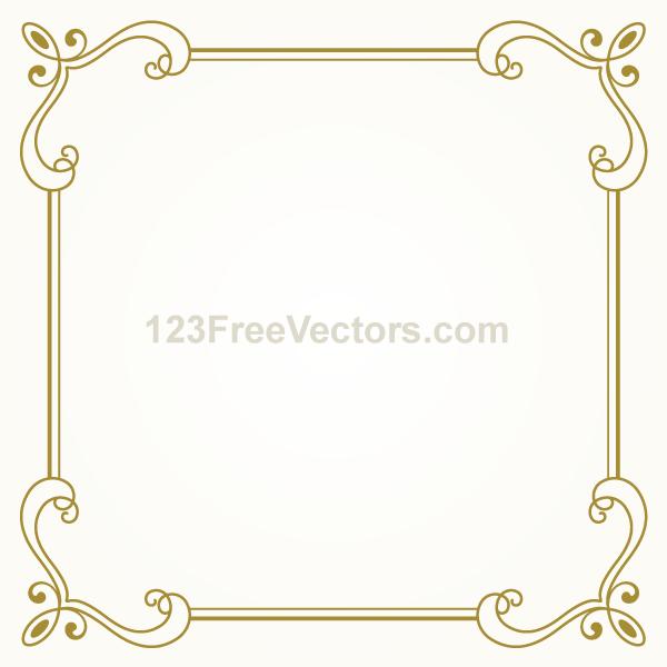 Similiar Gold Vintage Clip Art Border Keywords