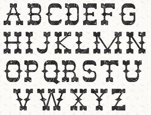 western-alphabet-letter-stencils_87209  Inch Letter Templates on basic cover, sample request, sample business,