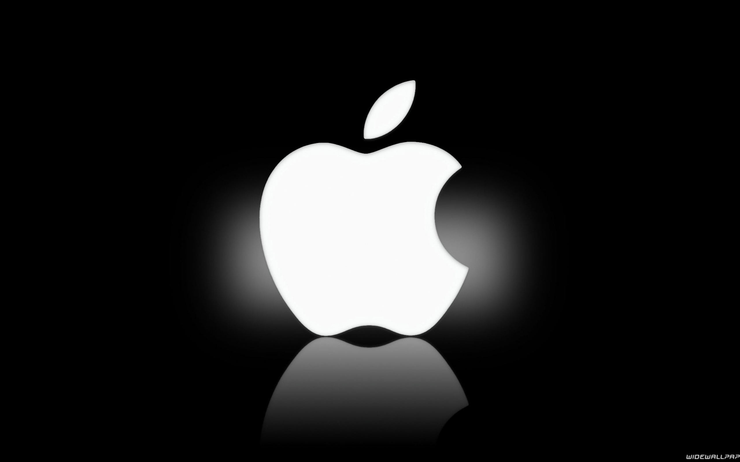 16 White Apple Icon Images