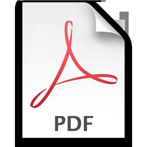 8 PDF Icon Transparent Images