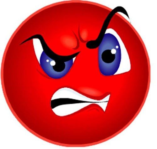 14 Mad Face Emoticon Images
