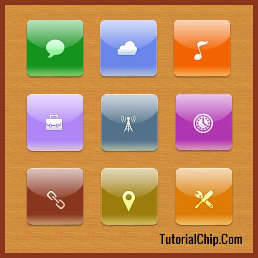 Apple iOS Icons