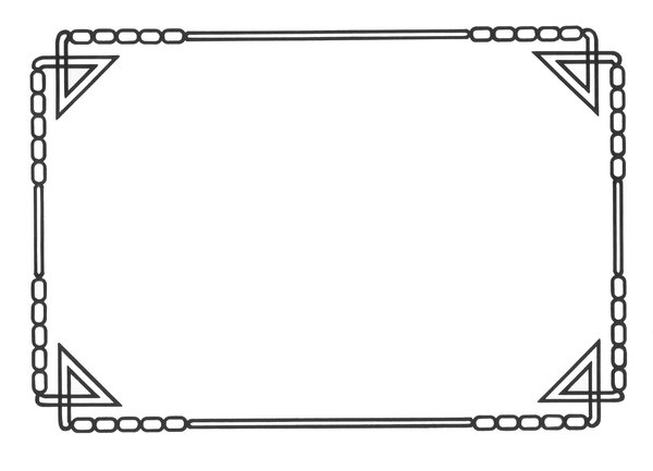 Art Deco Border Designs