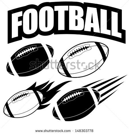 Nike american football graphics