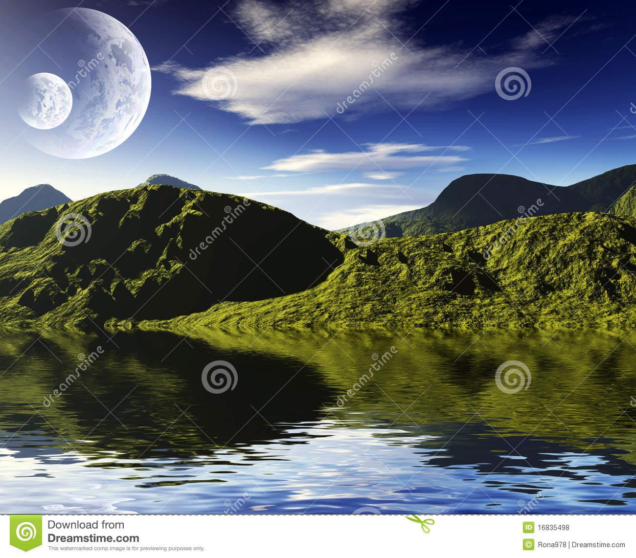 Bright Colorful Landscapes