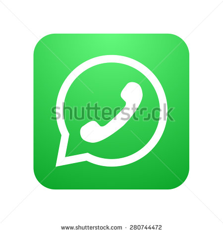Bubble in White Logo with a Phone