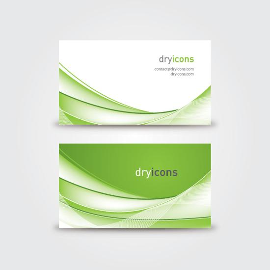 16 Vector Graphic Business Cards Images