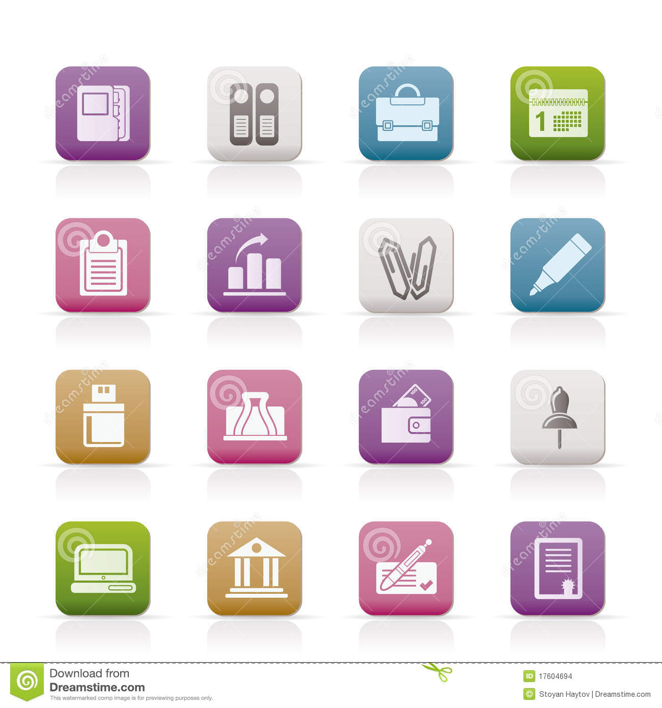 8 Business Office Icon Images