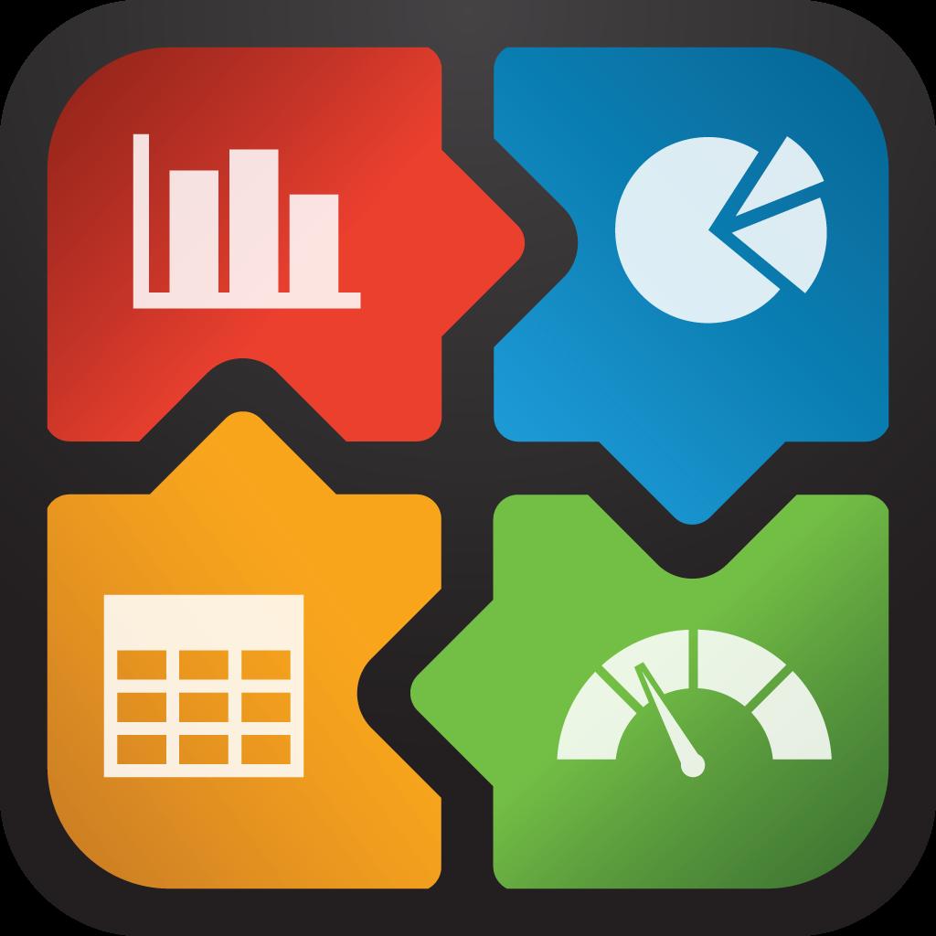 Business Intelligence Dashboard Icon