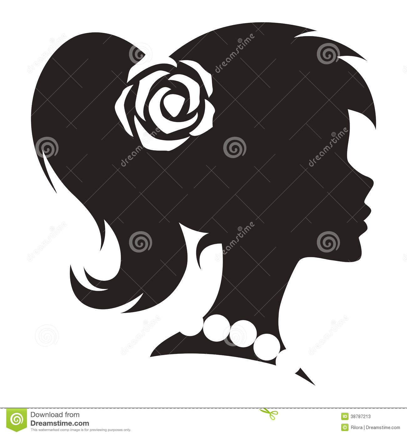 5 Vintage Woman Vector Images