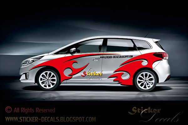 Racing Car Sticker Designs Graphics 10 Automotive Graphic ...