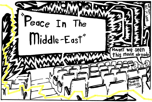 Cartoon Middle East Peace