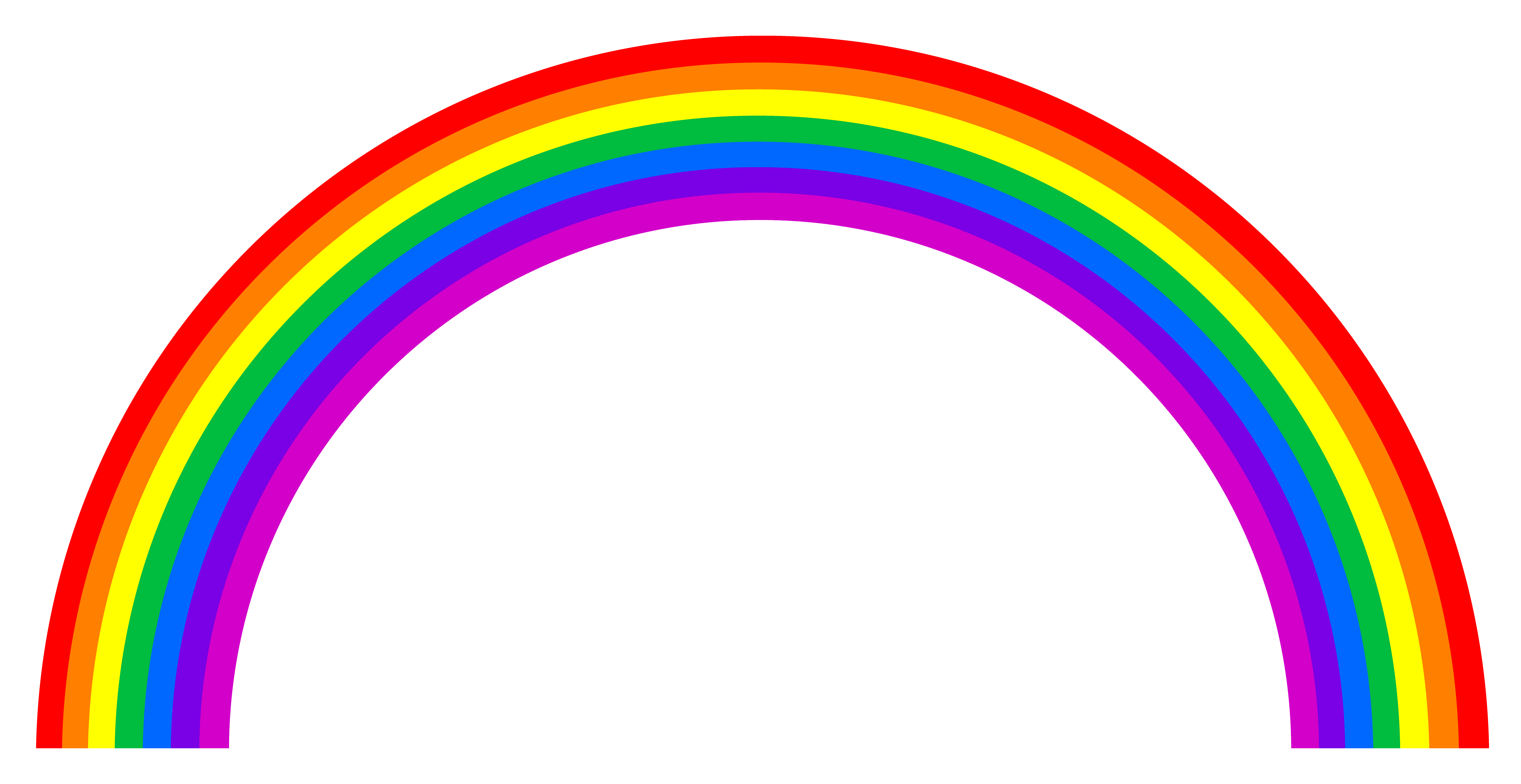 20 Vector Rainbow Style Images