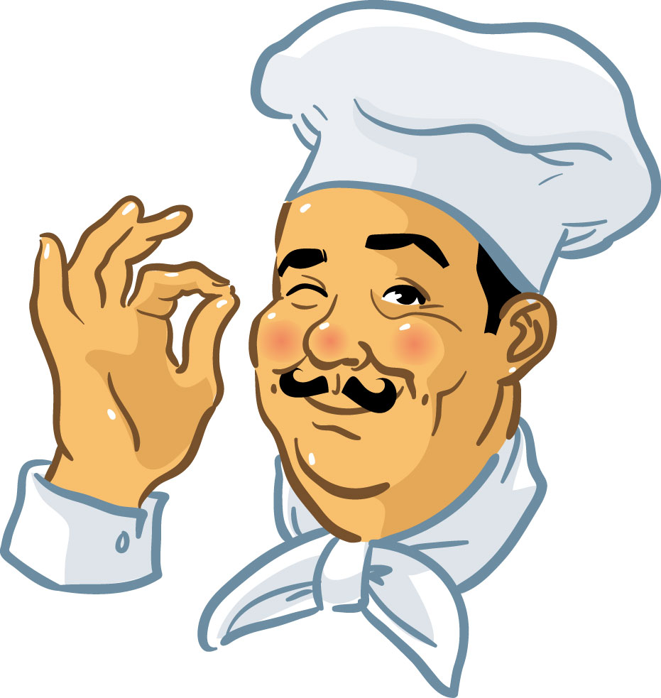 Chef Food Clip Art