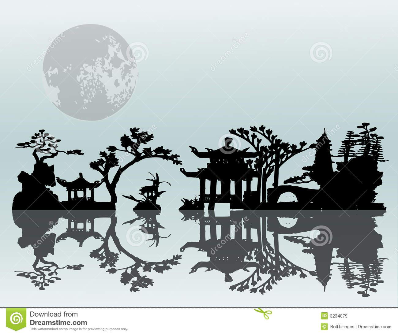 19 Asia Landscape Vector Images