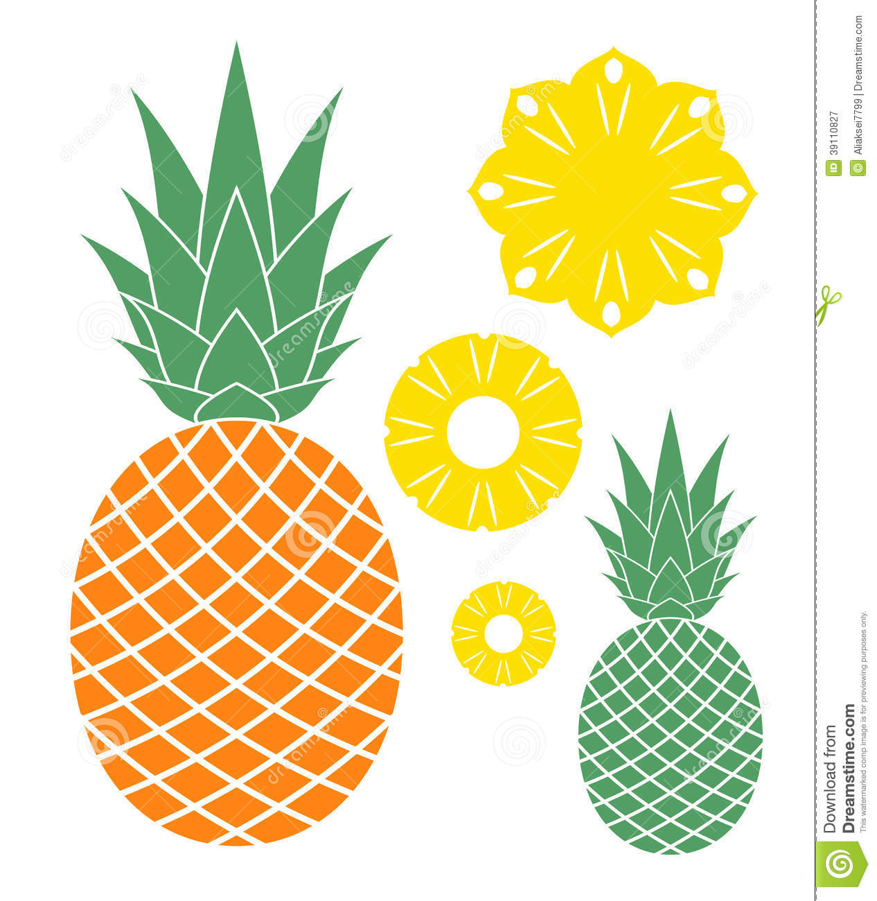 15 Pineapple Vector Black Images - Pineapple Die Cut Vinyl ...