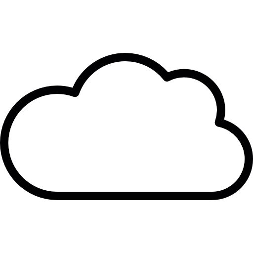 10 Cloud Outline Vector Images - Free Cloud Icons ...