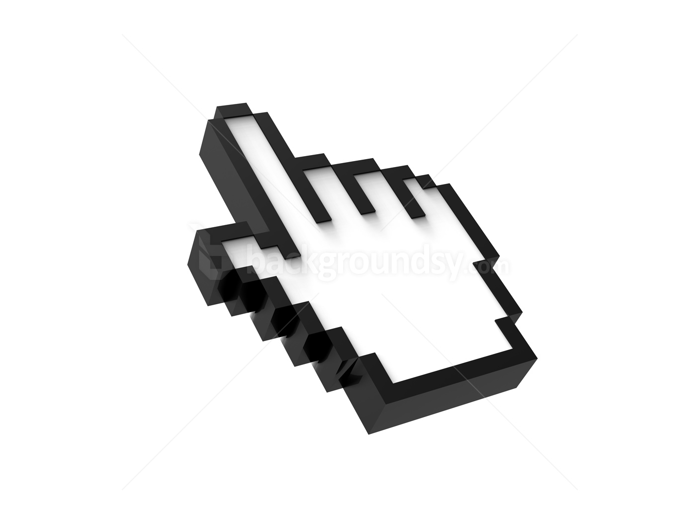 Computer Mouse Pointer Hand