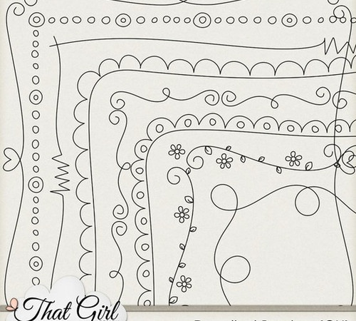 Cute Doodle Border Designs