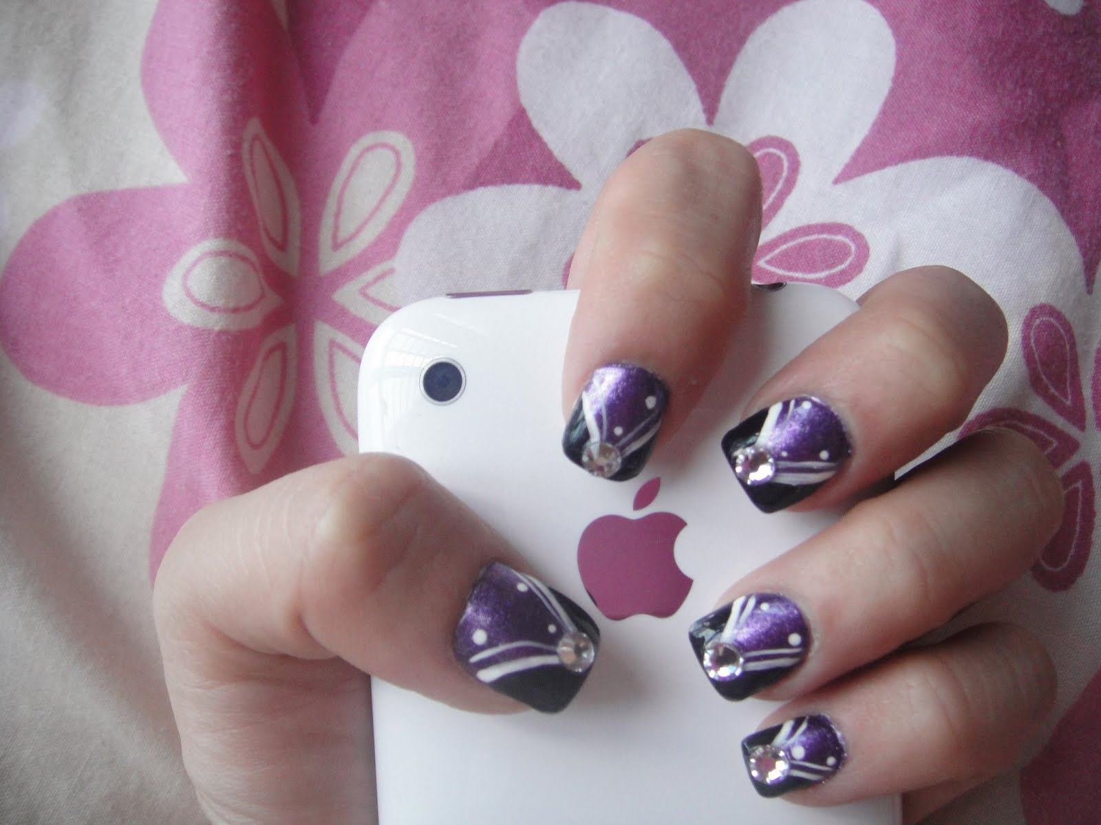 12 Short Nail Art Designs Images