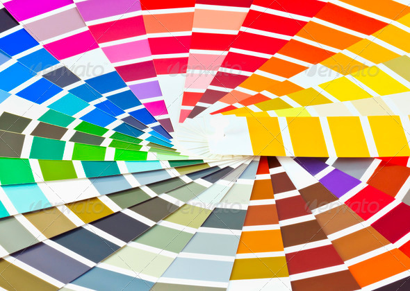 9 Painter Palette PSD Images