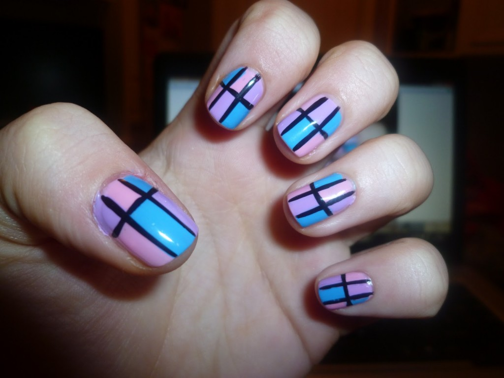 15 Simple Nail Art Designs Images