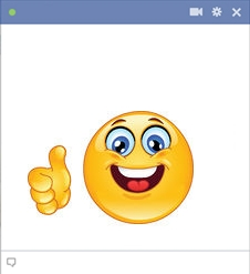 Facebook Thumbs Up Smiley