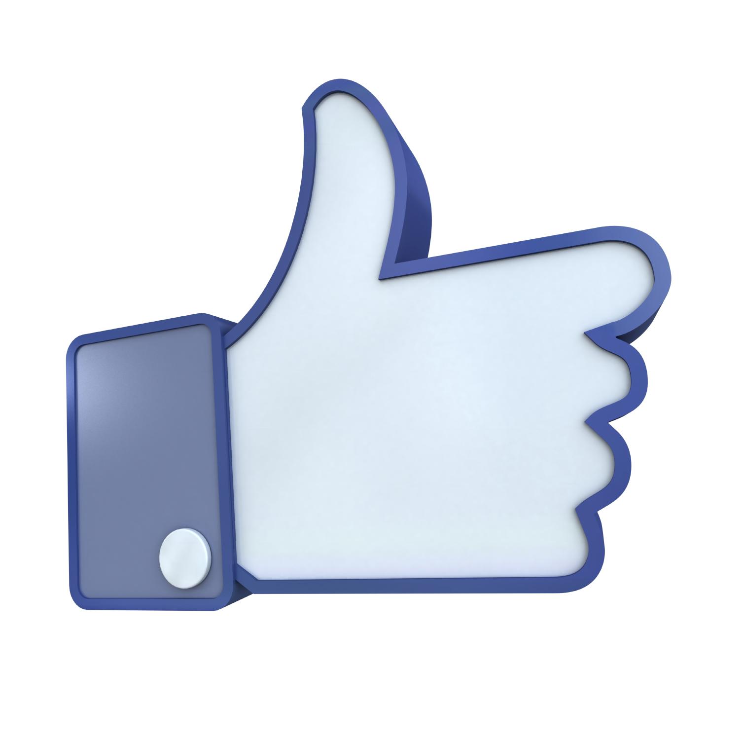Facebook Thumbs Up Symbol