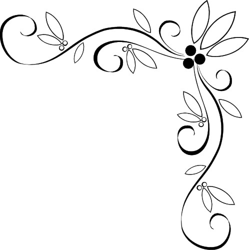 Fancy Corner Page Border Designs