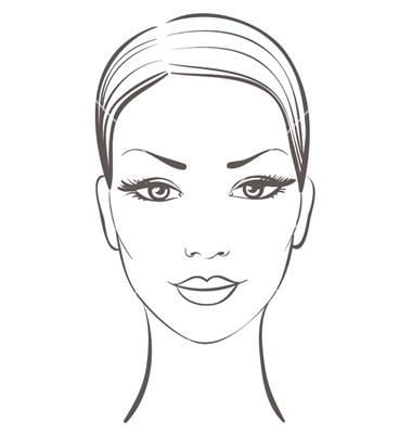 10 Woman Face Vector Images