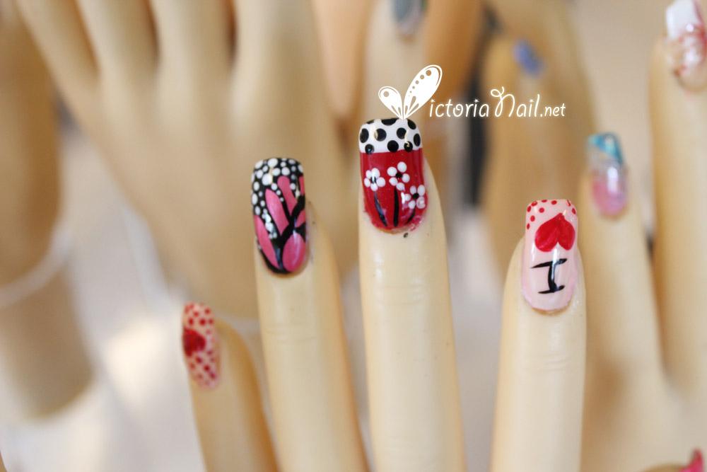 Finger Nail Art Designs