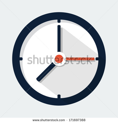 10 Flat Vector Digital Alarm Clock Images
