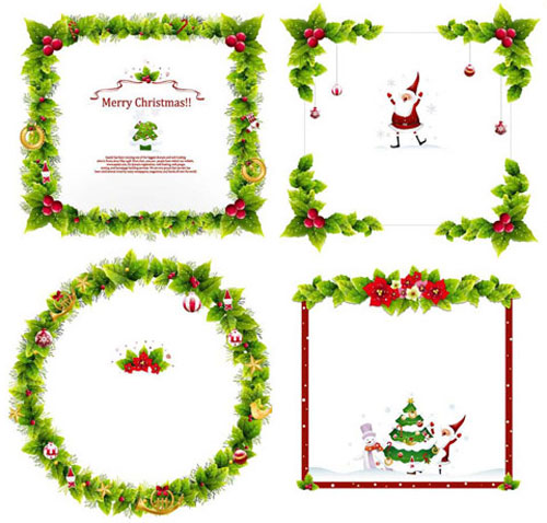 16 Free Christmas Vector Art Images