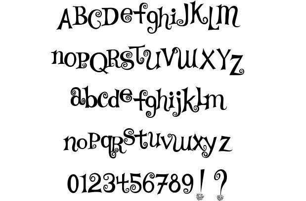 15 fancy curly script fonts images