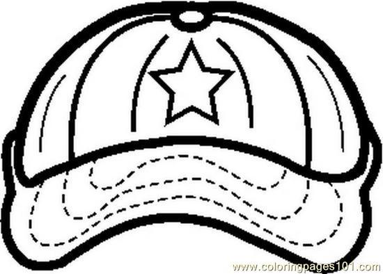 14 baseball hat template printable images baseball cap for Baseball cap coloring page