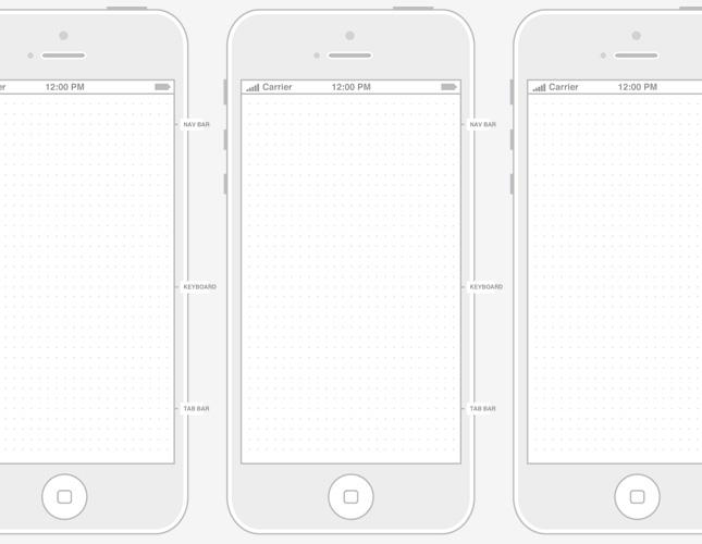 Free Printable iPhone Templates