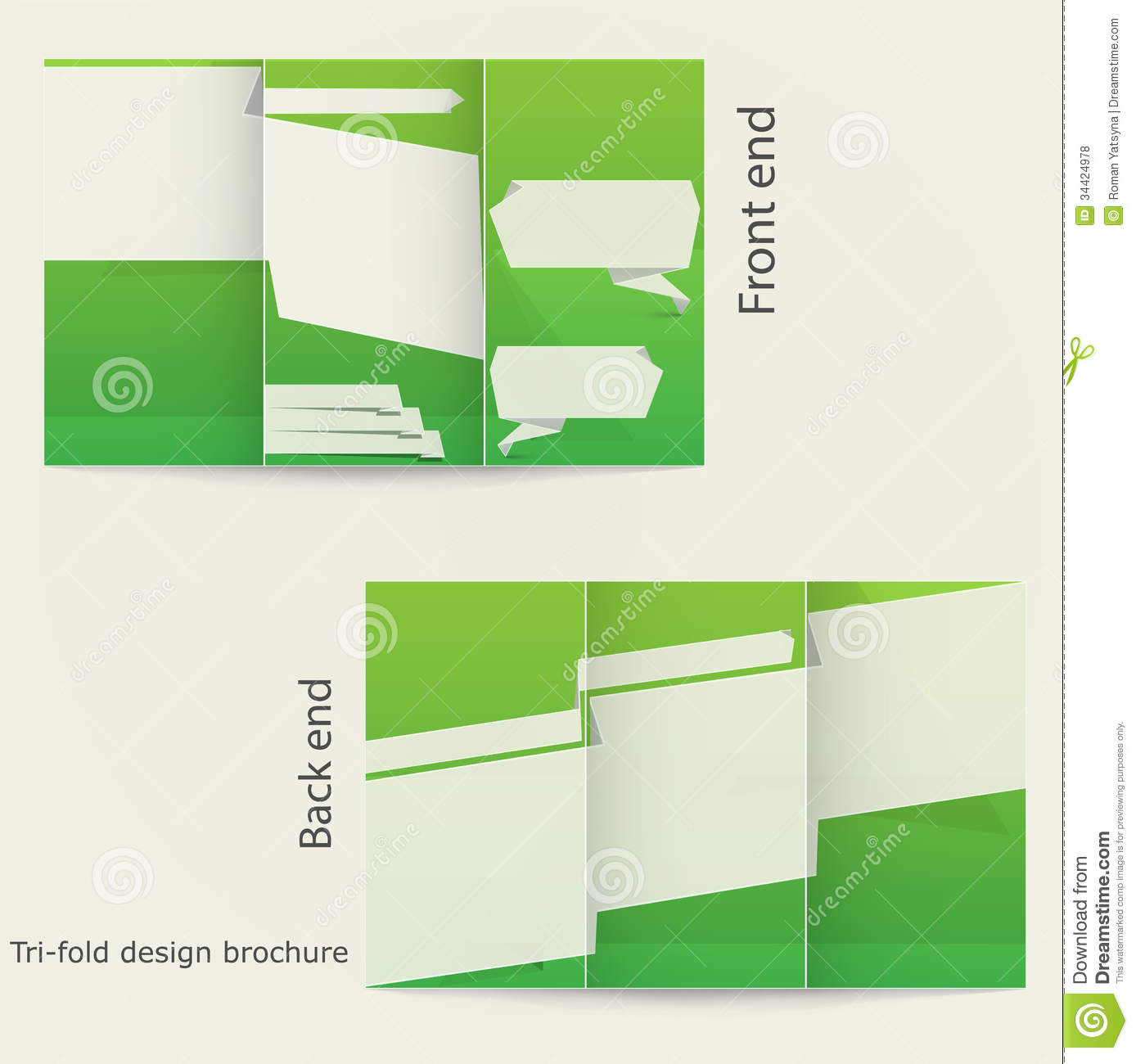 12 tri fold brochure template design images tri fold for Free online tri fold brochure template