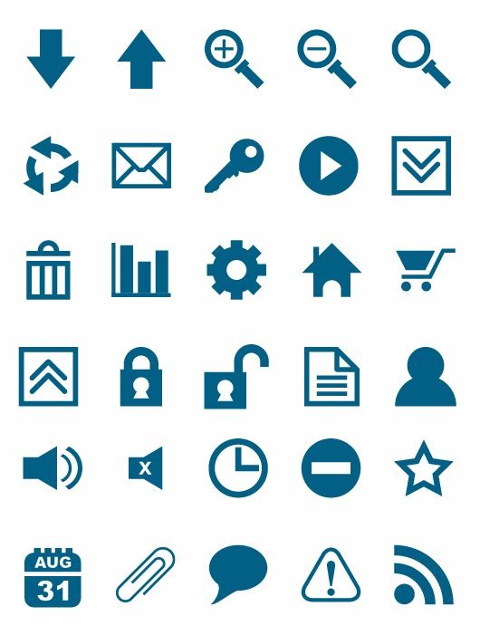 Free Vector Icons Set