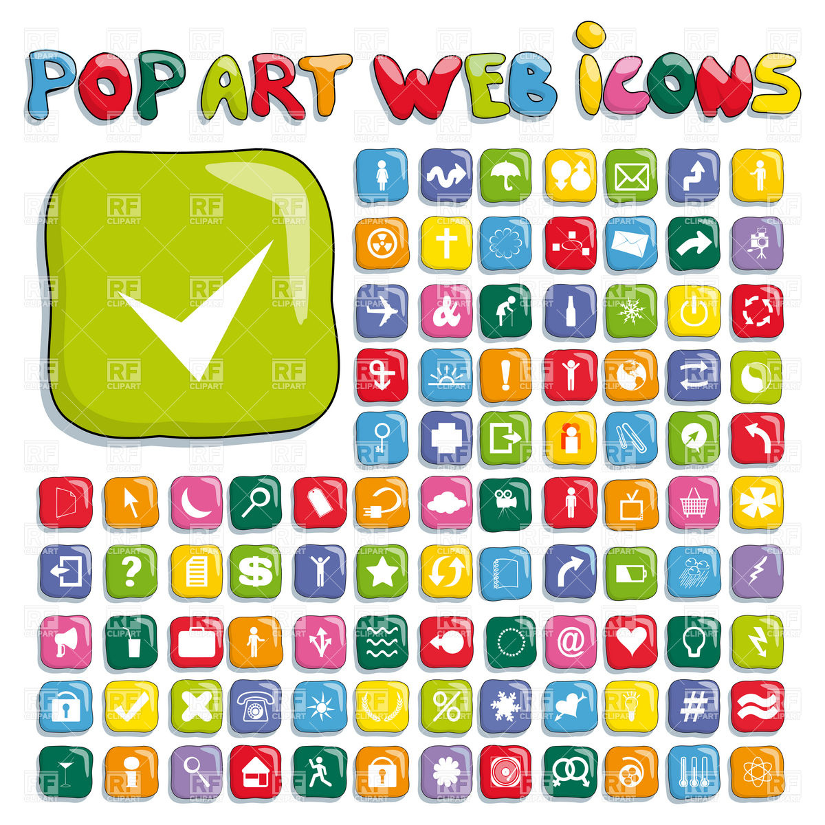 Free Web Vector Icon Sets