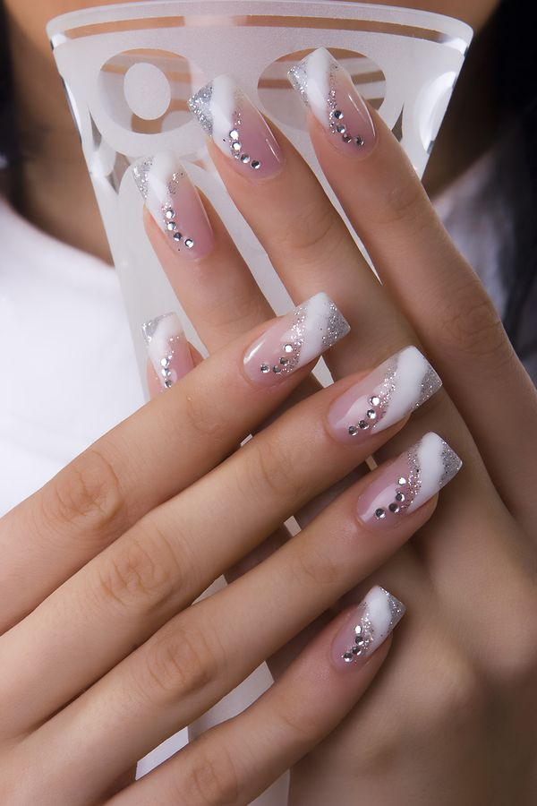 French Manicure Nail Design