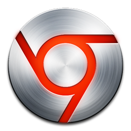 15 Red Chrome Icon Images
