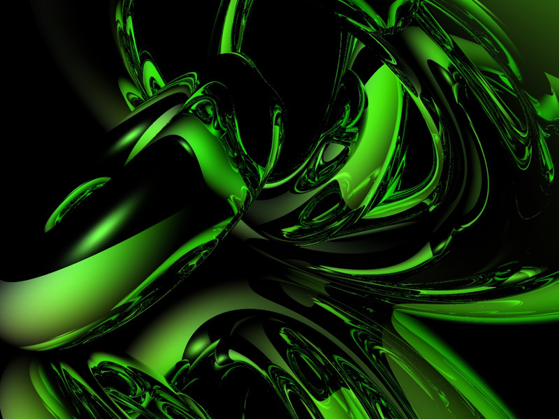 12 Green Abstract Designs Images