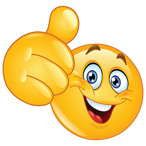 Happy Emoji Thumbs Up