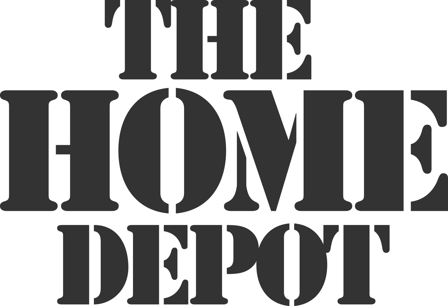 Home Depot Logo Vector Art Home Art - The home depot logo