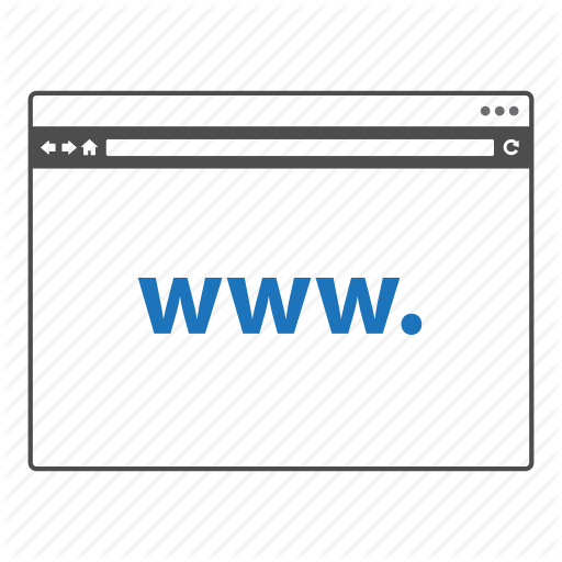 Internet Web Page Icon